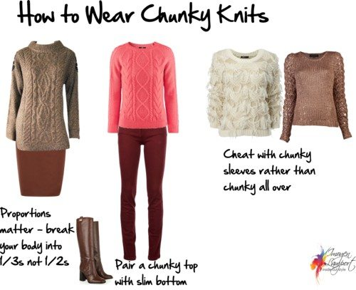 How to Wear a Chunky Knit Sweat