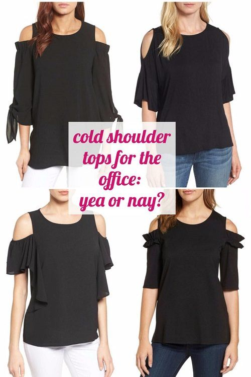 Can You Wear Cold Shoulder Tops to the Office? (Would You? DO You .