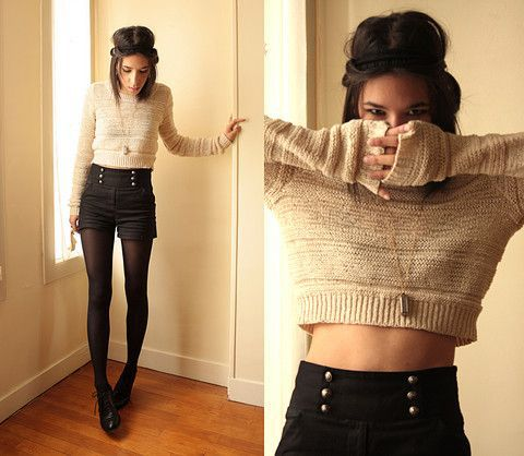 20 Style Tips On How To Wear Crop Tops In The Winter | Wear crop .