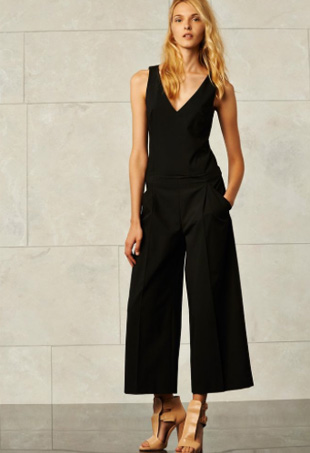 How to Wear Culotte Jumpsuits for Spring - theFashionSp