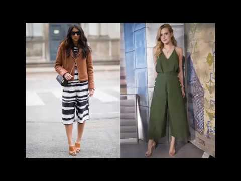 How To Wear A Culotte Jumpsuit for summer season - YouTu