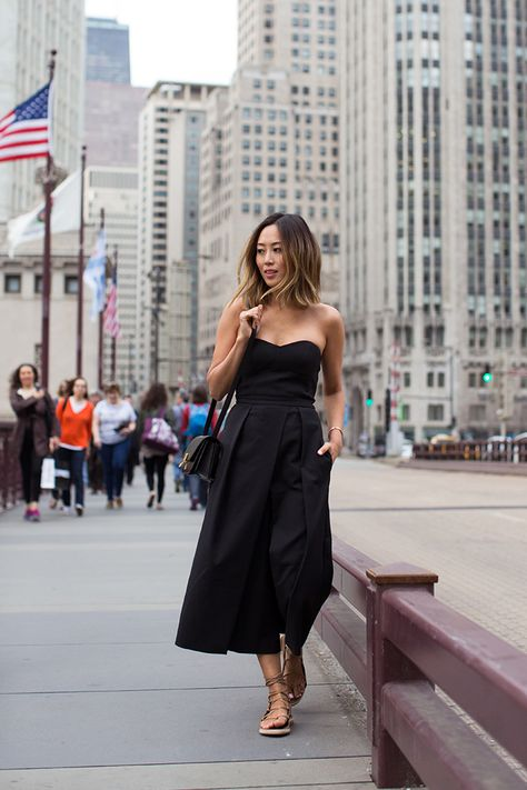 How to Wear Cropped Jumpsuits (AKA Culotte Rompers) – Closetful of .