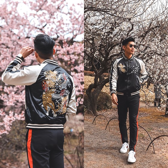 Leo Chan - Levitate Style How To Wear Embroidered Souvenir Jacket .