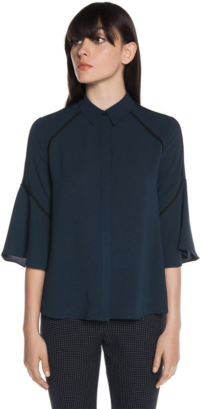 Tops | Draped Flare Sleeve Shirt | Buy tops online, Shirt sleeves .