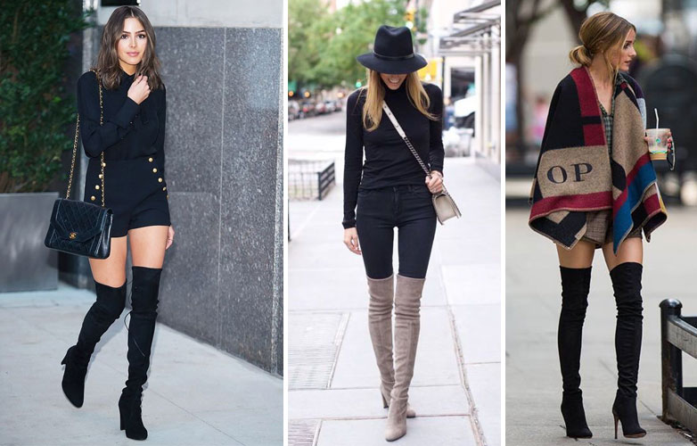 How to Wear Thigh-High Boots Tastefully | Style Magazin