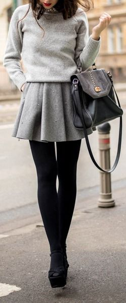 How to Wow This Winter in Woolen Skirts and Dresses - BelleT