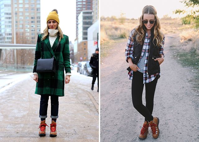 9 stylish ways to wear hiking boots | Hiking boots outfit, Trekking .