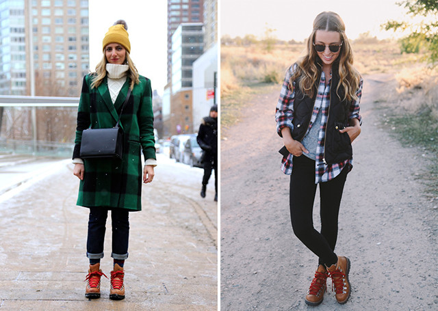 9 stylish ways to wear hiking boots - A Girl Named
