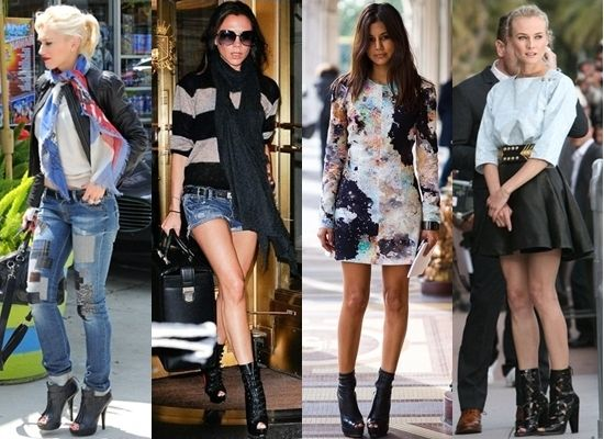 How to Wear Peep-toe Boots for Summer | Peep toe boots, Fashion .