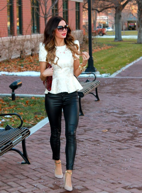 How to Wear Peplum: Featuring Boohoo   Fashion, Style, Wom
