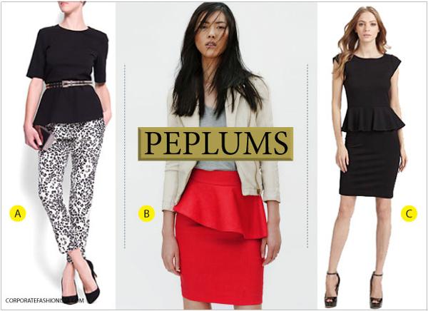 The (Hidden) Power Of The Peplum - Corporate Fashionis