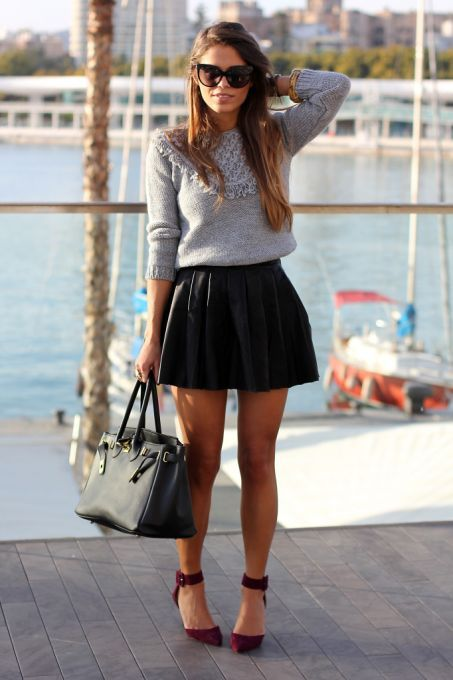 What to Wear With Pleated Skirts That Will Make It Look Dainty and .