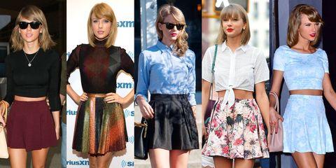 15 Pleated Mini Skirts - Best Mini Skirts for Fall - EL
