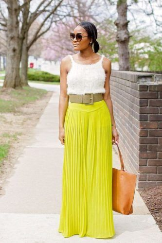 What to wear with palazzo pants | Fashion, Types of fashion styles .