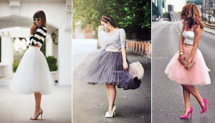 How to Wear a Ballerina Tulle Skirt? | Fashion & Wear - Geniusbeau