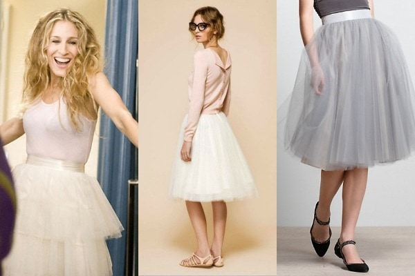 How to Wear a Tulle Skirt - College Fashi