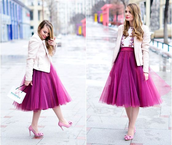 How to Wear Tulle Skirts (When You're a Grownup) | Tulle skirt .