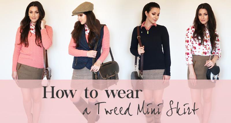 Charlotte in England: How to Wear a Tweed Mini Ski