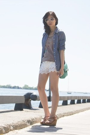 White Lace Shorts - How to Wear and Where to Buy | Chictop