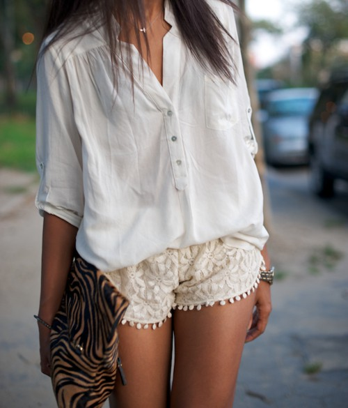 Lace Shorts: Yes or a N
