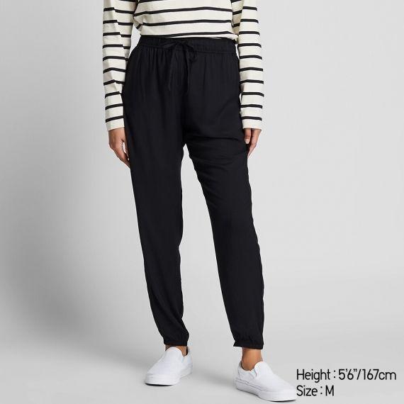 WOMEN Drape Jogger Pants - Loungewear - HOMEWEAR & ACCESSORIES .