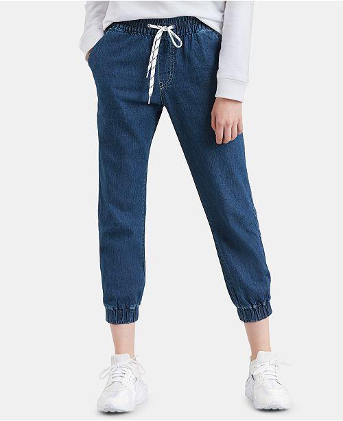 Levi's Women's Jet Set Cotton Denim Jogger Pants & Reviews - Women .