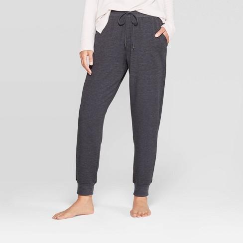 Women's Beautifully Soft Fleece Lounge Jogger Pants - Stars Above .