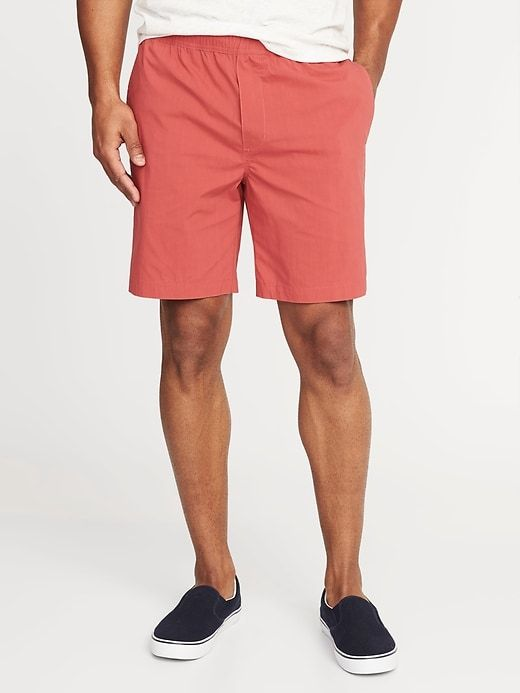 Old Navy Men's Built-In Flex Dry-Quick Jogger Shorts - 8 Inch .
