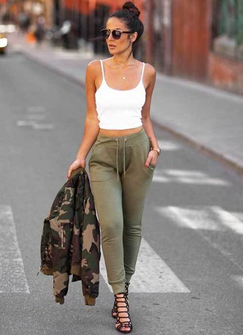 30 Jogger Pants Outfit Ideas for Women Who Love Comfy Sty