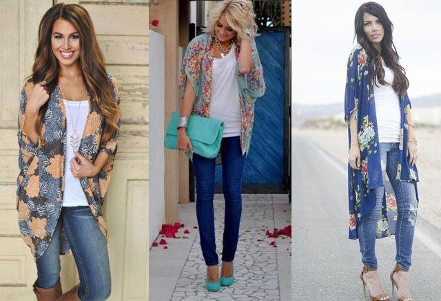 Kimono Sleeve Dress Ideas | Kimono outfit, Outfits, Cool outfi