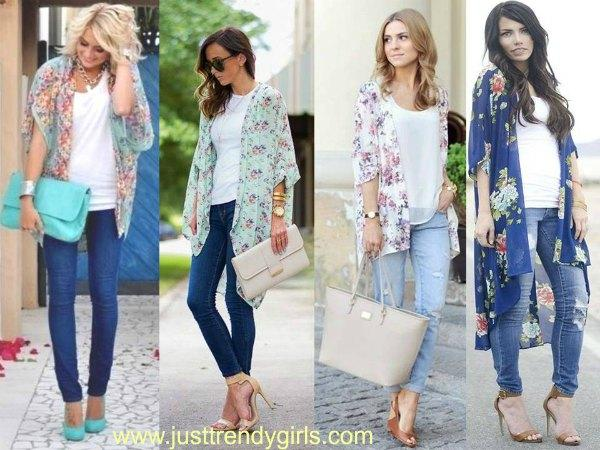 kimono cardigan styling ideas – Just Trendy Gir