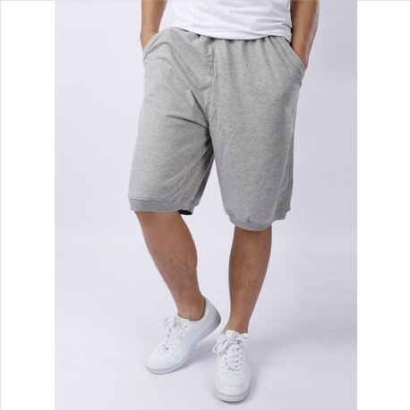 Free shipping /100% cotton sports shorts knee length pants capris .