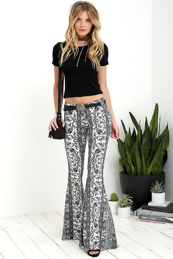Pin by drush drush on FLARES TO REMEMBER 62 | Flare pants, Pants .