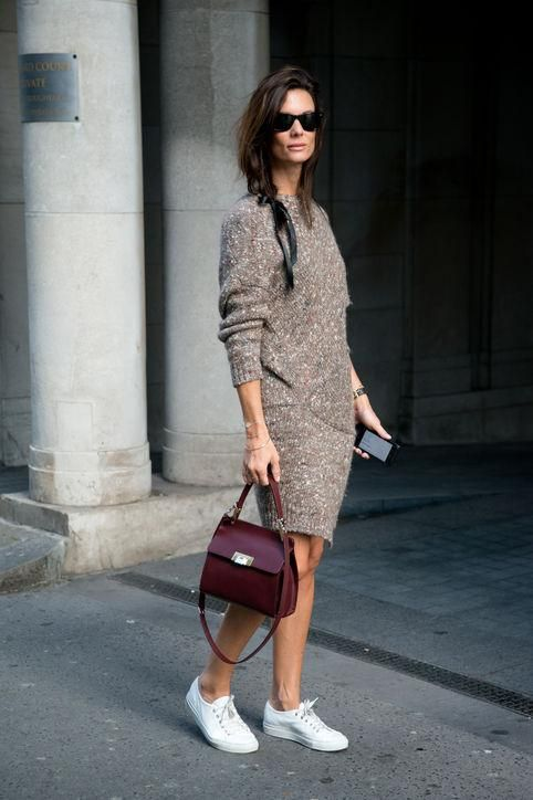The Sweaterdress: The Perfect Last Minute Thanksgiving Outfit Idea .