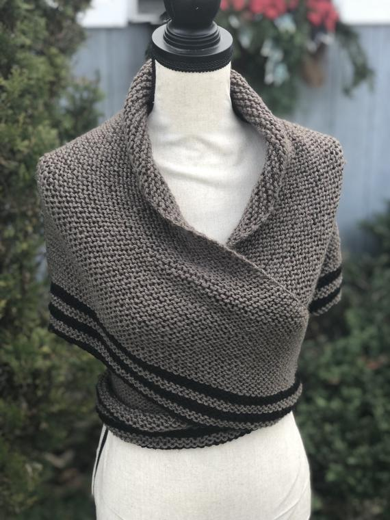 Knit Outlander Wrap-Around Shawl | Outlander clothing, Alpaca yarn .