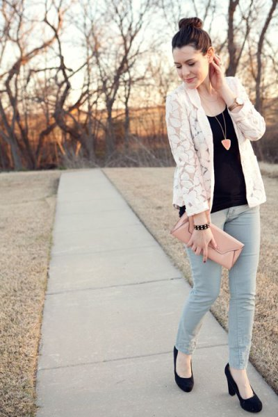 How to Wear Lace Jacket: Best Feminine Outfit Ideas for Ladies .