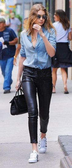 439 Best Leather jeans images in 2020   Leather jeans, Leather .