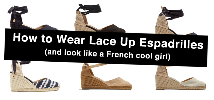 How To Wear Lace Up Espadrilles: 9 Outfit Ideas, Inspiration, and Mo