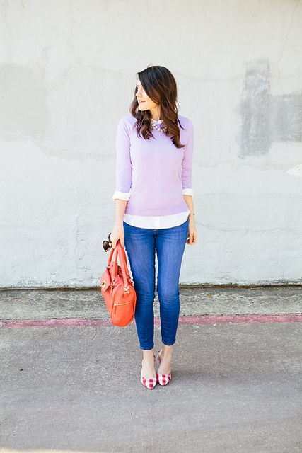 16 Girlish And Romantic Lavender Outfits For Work - Styleohol