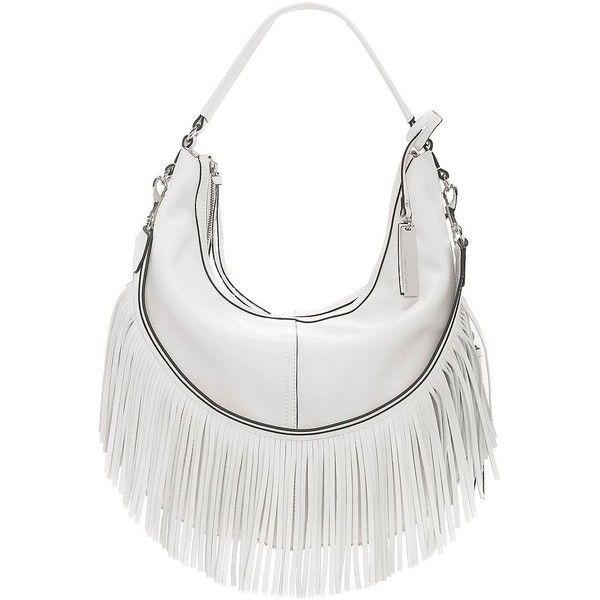 Vince Camuto Women's Hil Fringe Hobo Bag ($167) ❤ liked on .