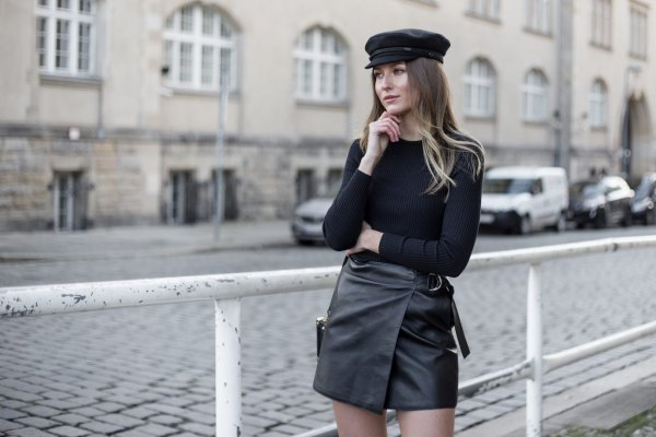 How to Wear Leather Hat: Best 13 Stylish & Artistic Outfit Ideas .