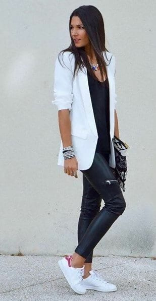 43 Leather Leggings Outfits That Will Make You Look Amazi