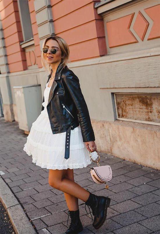 How To Wear Leather Jackets 2020 - LadyFashioniser.c