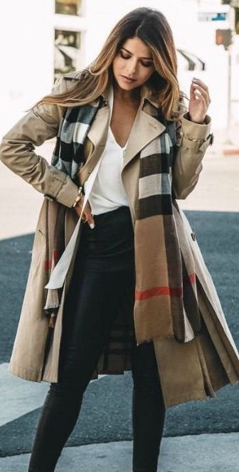 Burberry trench coat Supernatural Style | https://styletrendsblog .