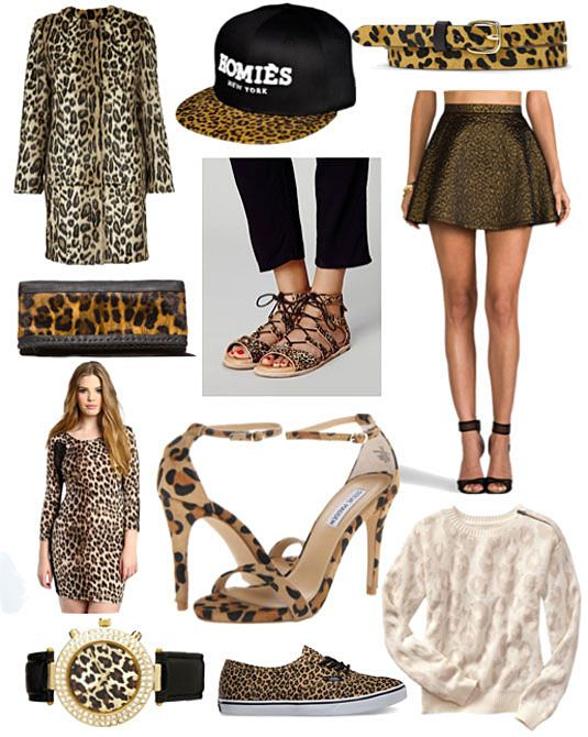 The 11 Best Ways to Wear Leopard Print | Leopard print outfits .