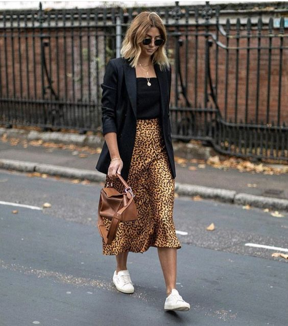 3 Different Leopard Print Skirts 3 Outfit Ideas | Printed skirt .