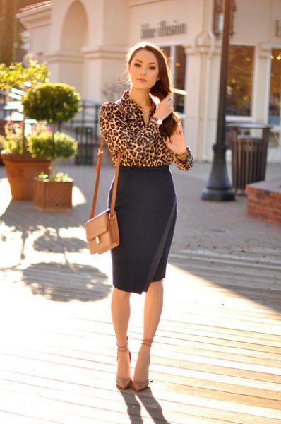 How to Wear Leopard Print Blouse: Top 15 Outfit Ideas - FMag.c
