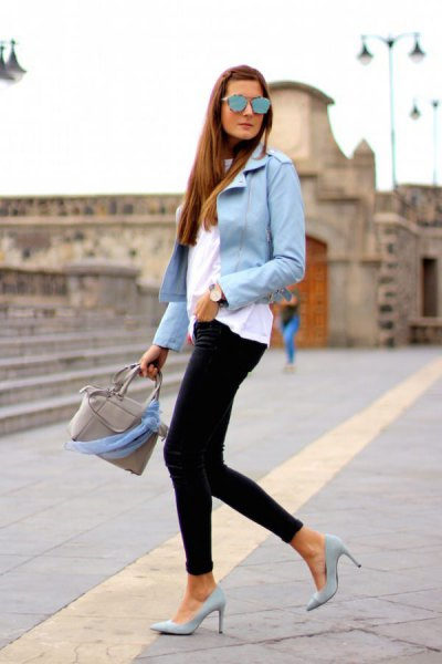 How to Wear Light Blue Blazer: Top 13 Outfit Ideas for Women .