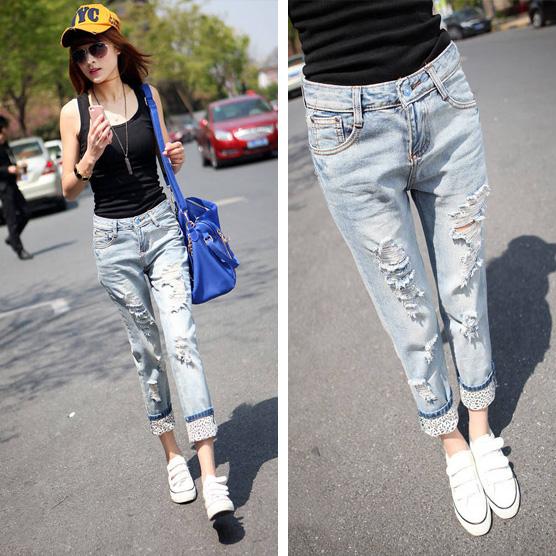 light denim jeans outfit - Kumpalo.parkersydnorhistoric.o