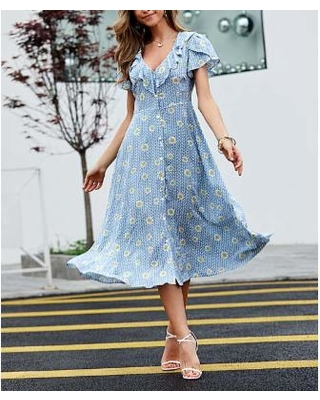 Don't Miss Sales on Reborn Collection Women's Casual Dresses Light .